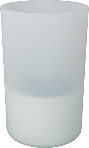 PowerPlus Nightmoth Solar-Kerzenlicht Acryl weißblau