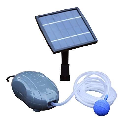 15 W Solar Teichbelüfter Sauerstoffpumpe Luftpumpe für Gartenteich - Pumpe für Garten Teich Aquarium von PK Green