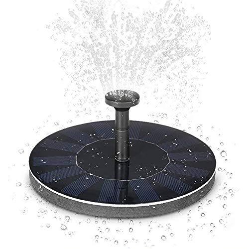 Solar Pumpe Springbrunnen Brushless Pump Plants Gießkit Set mit 14W Monokristallinem Solarmodul für Vogelbad Gartenteich Energieeinsparung Umweltfreundlich Universal etc