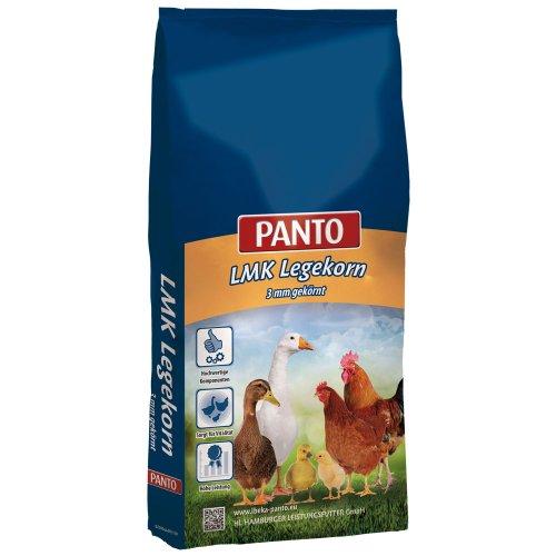 Panto LMK Legekorn 3mm Legemehl pelletiert für eine optimale Versorgung Ihres Geflügels 1er Pack 1 x 25000 g