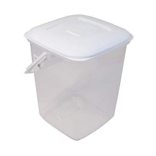 4 X 10l Lebensmittel Aufbewahrung Behälter Bpa-Frei Kunststoff Dose mit Deckel und Griff H30 X W24cm