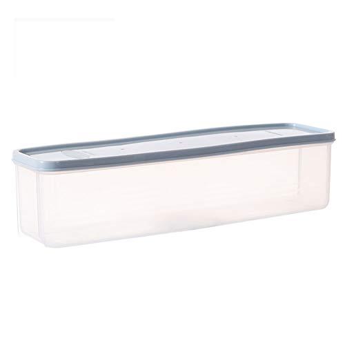 Hosaire 1x Lebensmittel Aufbewahrungsbox Essen Storagebox Kunststoff Aufbewahrungsbehälter Küche Aufbewahrungs 30  8  82cm Blau