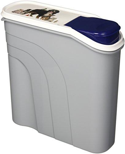 Rotho Aufbewahrungsbox für Tierfutter aus Kunststoff PP - Trockenfutterbehälter für Hunde Katzen Vögel Fische und andere Kleintiere