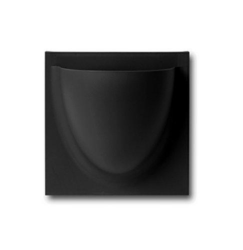 Vertiplants Original Mini Wandtopf Blumentopf Aufbewahrung Kunststoff neu schwarz black