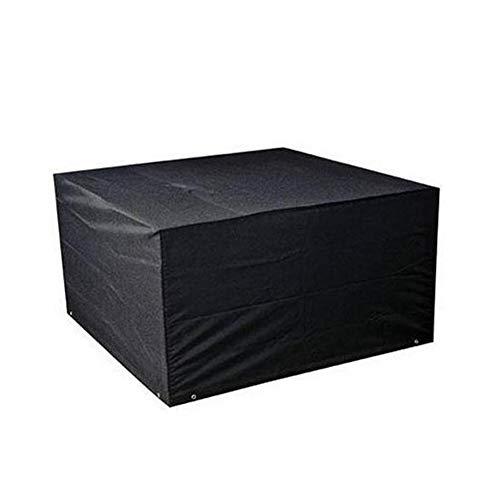 Cosanter Wasserdicht Rechteckige Abdeckung Gartenmöbel Schutzhülle Abdeckplane Abdeckhaube 213x 132 x 74 cm Schwarz