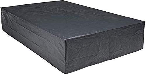 habeig Schutzhülle für Gartenmöbel 300 x 250 x 80 cm  Premiumqualität aus 140g  m² PP Woven Gewebe wasserdicht  für große Sitzgruppe