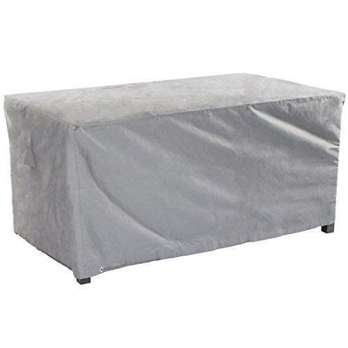 Ultranatura Gewebe-Schutzhülle Sylt für rechteckigen Gartentisch Wetterschutzhülle für eckige Tische 175 x 105 x 71 cm