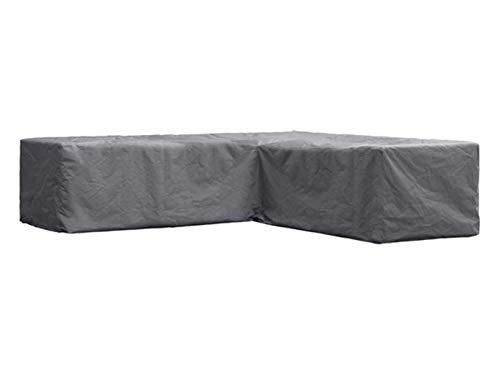Perel Garden OCLSL215 Schutzhülle Für L-Förmiges Lounge-Set-215 cm Schwarz 215 x 215 x 70 cm