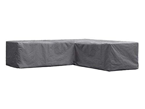 Perel Garden OCLSL250 Schutzhülle Für L-Förmiges Lounge-Set-250 cm 250 x 90 x 70 cm Schwarz