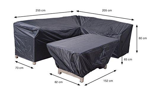 Reißfeste Schutzhülle für Lounge Toscana oder Havanna rechts in praktischer Tragetasche 2-teilig 70482