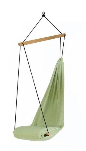 AMAZONAS Designer Hängesessel Hangover Gren mit Längsstab aus Holz 90 cm bis 150kg in Grün