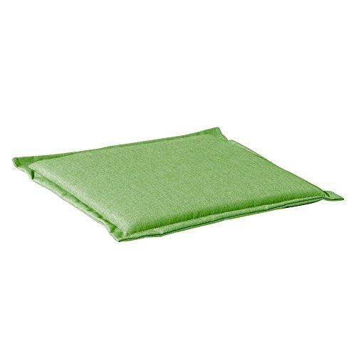 Sieger 5610 4920 KT Hocker-Auflage 100 DralonPolyacryl circa 51 x 51 x 4 cm grün