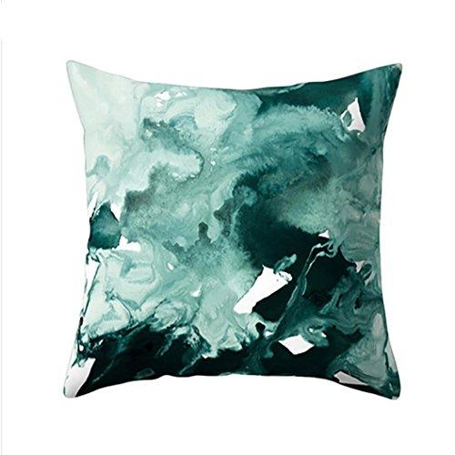 Angenehm weiche Exquisite Home Dekoration Fashion Trend New Marmor Muster Kissen Sets Sofa Kissen grün