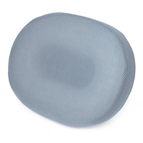 Oval Ring Sitzkissen - TOOGOORDruck Sitzkissen Relief Schaum Oval Ring Sitz Kissen mit waschbar Luft Mesh Abdeckung Hellgrau
