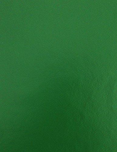 KEVKUS Wachstuch Tischdecke Meterware unifarben tannengrün uni 350 Größe wählbar in eckig rund oval 120 cm rund