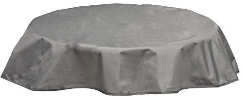 beo Outdoor-Tischdecken wasserabweisende rund Durchmesser 120 cm hellgrau