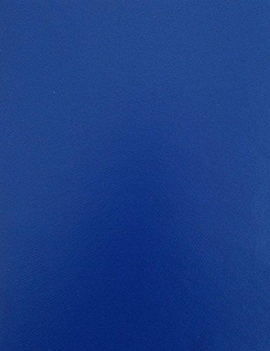 KEVKUS Wachstuch Tischdecke Meterware unifarben blau royalblau uni 295 Größe wählbar in eckig rund oval 120 cm rund