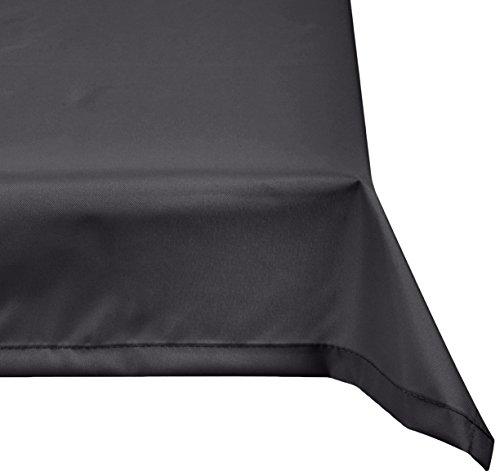 beo Outdoor-Tischdecken wasserabweisende eckig 76 x 76 cm anthrazit