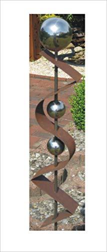 Jabo Design Gartenstecker ST200 Rost Skulptur Rostdeko Edelrost Roststeelen Deko Garten