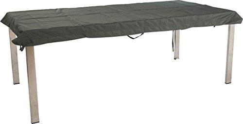 Stern Schutzhülle für Gartenmöbel Tische uni grau 263 x 113 x 5 cm 12 ml 454823