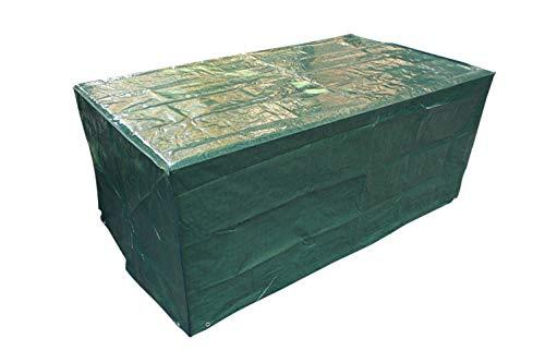 Laxllent Schutzhülle für TischWasserdicht Gartenmöbel AbdeckungAtmungsaktiv Abdeckhaube für StühleSofa170x95x70cmPEGrün