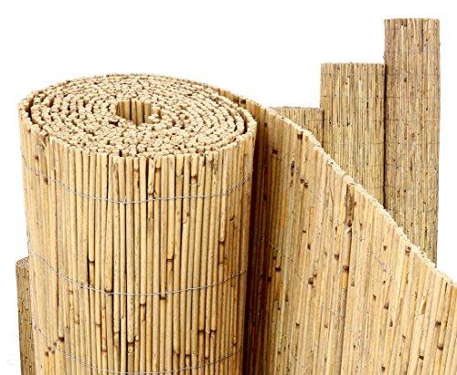Schilfrohrmatten PremiumBeach 200 hoch x 300cm breit ein Produkt von bambus-discount - Sichtschutz Matten Windschutzmatten
