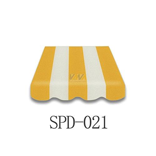 Markisenstoff Plane Zelts Markise Stoff mit Volant 4 x 25 m SPD021
