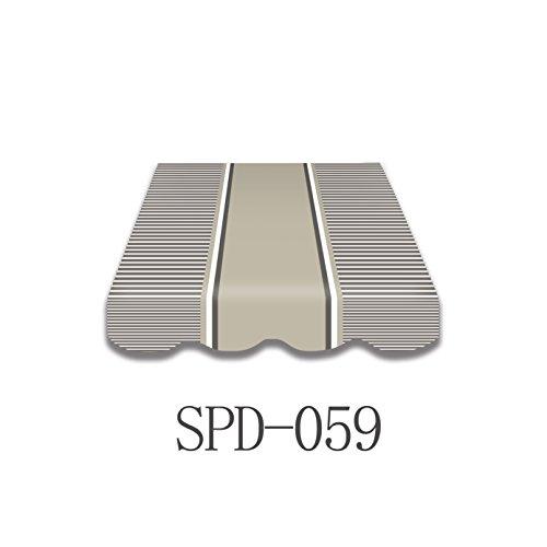 Vana deutschland GmbH Markisen-Stoff Markisenbespannung Ersatzstoff mit Volant 35m  4m SPD059 35x3m