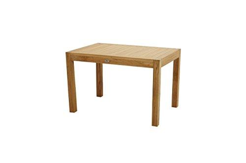Gartentisch Esstisch Tisch Massivholz Teak NEW HAVEN 120x80 von PLOSS NEU