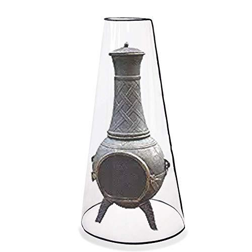QEES HLZ01 Terrassen-Kamin Abdeckung strapazierfähig für den Außenbereich für Feuerstelle und Feuerstelle