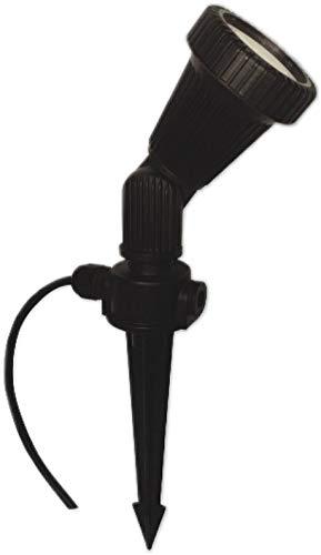 Dimmbare GU10 LED Gartenleuchte mit Erdspiess 230 V - 75W PA warmweiss 230V