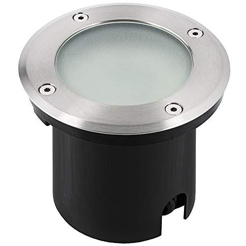 LED Einbau Bodeneinbaustrahler MARNE für Außen IP65 wasserfest trittfest befahrbar - inkl LED GU10 5W neutralweiß dimmbar