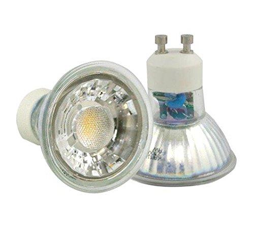 Power LED Leuchtmittel DIMMBAR 7 Watt GU10 230V warmweiß entspr 50 Watt Halogen Leuchtstärke