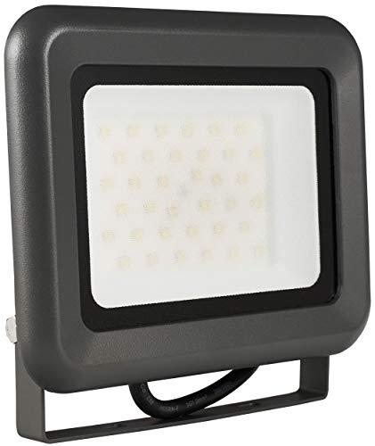 2x LUMIRA LED Fluter 30W Ersatz für 300W Flutlicht-Strahler Außen-Leuchte für Innen- und Außenbereich IP65 Warmweiß