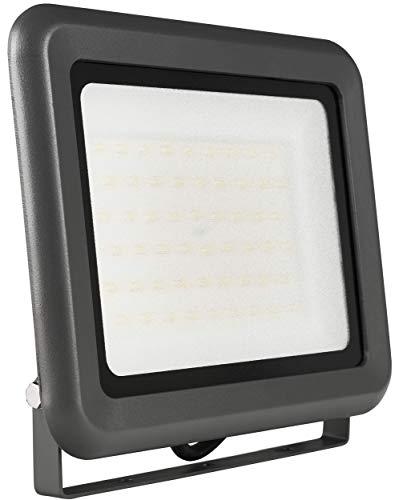 2x LUMIRA LED Fluter 50W Ersatz für 500W Flutlicht-Strahler Außen-Leuchte für Innen- und Außenbereich IP65 Warmweiß