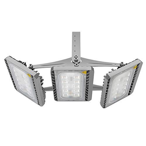 GOSUN Super Hell 150W LED Fluter Außenstrahler 13500Lumen 230V IP65 CREE SMD5050 Kaltweiß 36 Monate Garantie