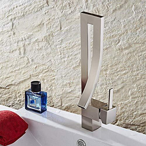 Lxj Armatur Wasserhahn Waschtisch Waschbecken zeichnen heiße und kalte einloch-Armatur