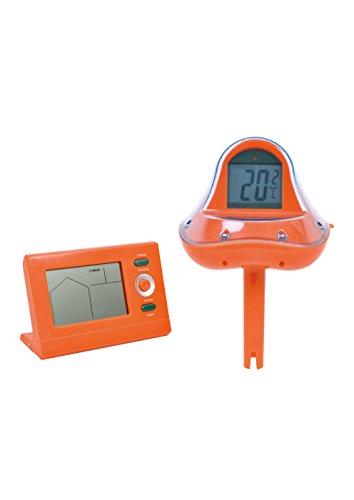 Jilong WiFi Pool Thermometer  externer Empfänger Funk-Thermometer für Schwimmbad Schwimmbecken schwimmende Wassertemperatur Anzeige in °C und °F