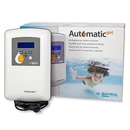 BAYROL Automatic Chlor  pH-Wert  Dosieranlage für Chlor  pH-Wert  Erleichtern Sie sich die Dosierung Ihrer Wasserpflege