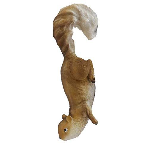 Eichhörnchen 30cm lebensecht hängend handbemalt Deko wetterfest Garten Figur