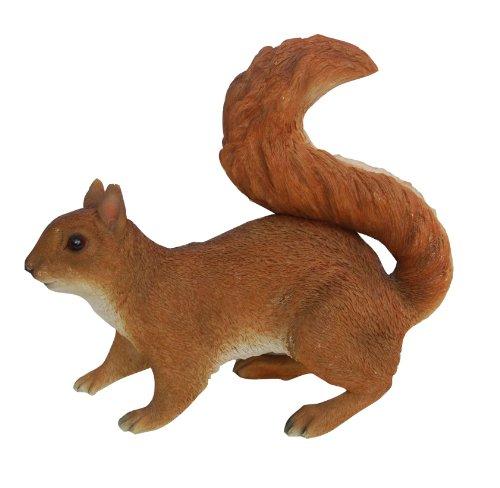 Vivid Arts Real Life Eichhörnchen rot Kunstharz Gartendeko Größe A