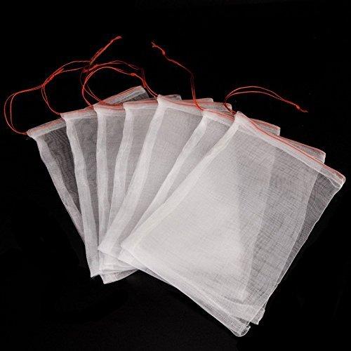 30 Stück Insekten Moskito Bug Net Barrier Bag Garten Pflanze Obst Blume schützen Tasche Garten Netting Tasche zum Schutz Ihrer Pflanze Früchte Blume von ICEBLUEOR 6 x 10
