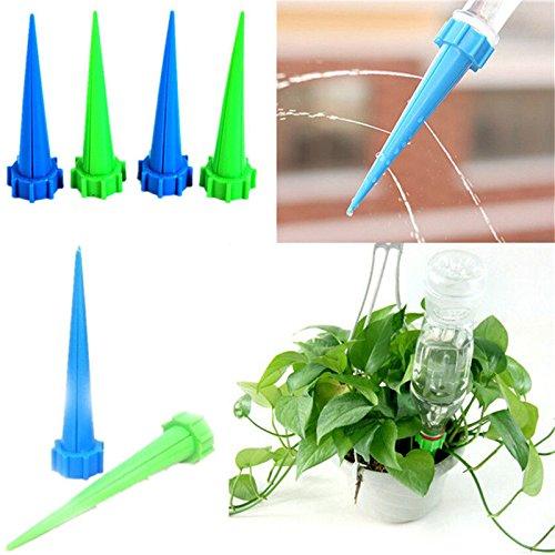 chiccharming 10�St�ck automatischen Bew�sserung Ger�t Zimmerpflanze Pflanze Bew�sserung Spike Garten Wasser Pflanzen Blumen Bew�sserung Werkzeug Farbe Zuf�llige