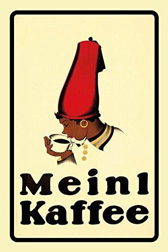 Schatzmix Meinl Kaffee reklame Metal Sign deko Schild Blech Garten