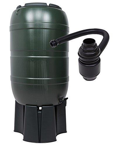 Ondis24 Regentonne Wassertank Wasserrfass mit 210 Liter Volumen mit Ständer Füllautomat