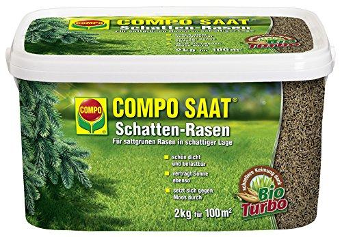 COMPO SAAT Schatten-Rasen 2 kg Rasensamen Rasensaat