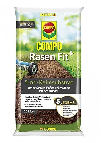Compo Rasen Fit 5in1 Keimsubstrat 20l für 10 m²