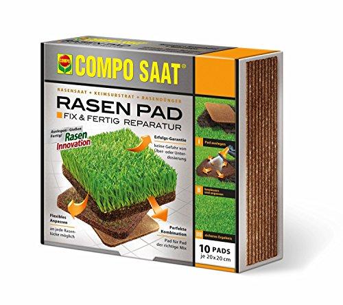 Compo Rasen-Pad 20X20cm 10er Pack