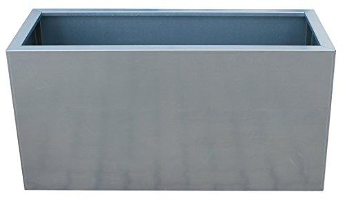 Palatino Exclusive Line HochbeetPflanzkübel LOTTE aus verz Stahl 100 x 40 Tiefe 50 cm modular