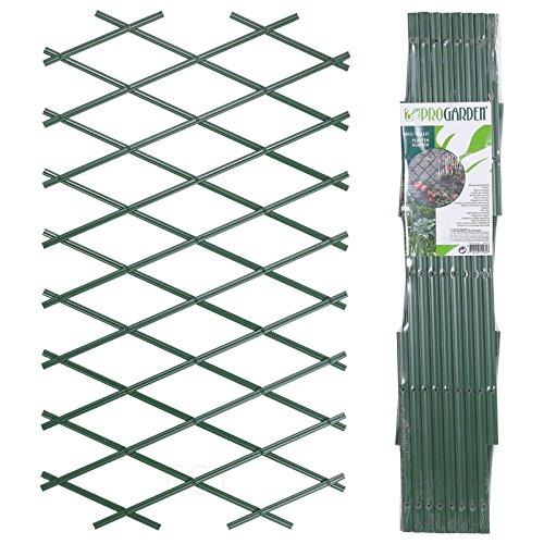 URBNLIVING Rankgitter Grün Kunststoff Wand klappbar Zaun 2